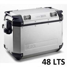 Bau-Lateral-Givi-Aluminio-Outback-48-lts-Polido--par-